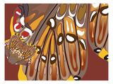 Tribal Wara Giclee Print by Belen Mena
