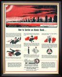 Humour Nuclear Atomic Bombs, USA, 1951 Prints