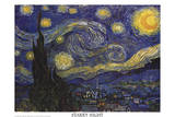 Vincent Van Gogh (The Starry Night) Art Poster Print Poster