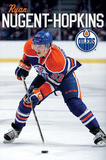 Edmonton Oilers Ryan Nugent-Hopkins Sports Poster Poster