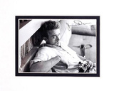 James Dean (With Camera) Double-Matted Movie Print Matted Print