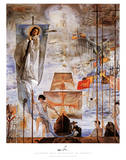 Discovery Of America Prints by Salvador Dalí
