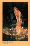 Edward Robert Hughes (Midsummer Eve) Art Poster Print Poster