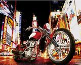 Todd Latimer (Midnight Rider, Motorcycle) Art Poster Print Plakat