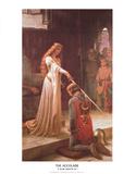 El espaldarazo Láminas por Leighton, Edmund Blair
