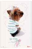 Big Flirt (Puppy Dog) Art Print Poster Posters