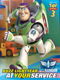 Toy Story 3 Movie Buzz Lightyear Poster Print Poster