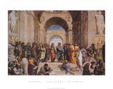 Die Schule von Athen, ca. 1511 (Detail) Kunst von  Raphael