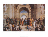 The School of Athens, c.1511 (detail) Posters by Raphael 