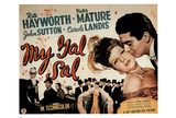 My Gal Sal Movie (Rita Hayworth & Victor Mature) Poster Print Prints