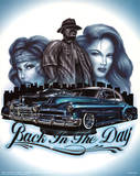 Back in the Day (Classic Cars) Art Print Poster Print