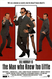 The Man Who Knew Too Little Movie Bill Murray Original Poster Print Photo