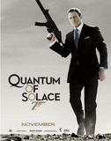 James Bond, Quantum of Solace, Movie Poster Print Poster