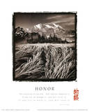 Honor (Tao Te Ching, Mountains & Fields) Prints