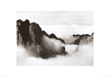 Celestial Mountains no. 18 Print by Wang Wusheng