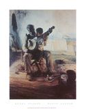 Lección de banjo Póster por Henry Ossawa Tanner