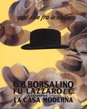 Marcello Dudovich (Borsalino Vintage Ad) Art Poster Print Prints