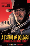 A Fistful of Dollars Movie Clint Eastwood Poster Print Photo