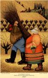 Lowell Herrero Original 2007 Napa Valley Mustard Festival Art Print Poster Prints