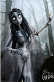 Corpse Bride Movie Bride in Woods Poster Print Poster