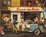 Sarah Jenkins (Sarah's BBQ) Art Poster Print Posters