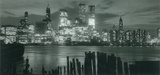 Manhattan Skyline New York City Collection Panoramic Greeting Cards 12 Per Package Juegos de tarjetas de notas