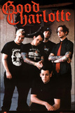 Good Charlotte Group Standing Music Poster Print Photo