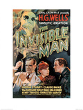 The Invisible Man Movie Claude Rains Gloria Stuart Plakater