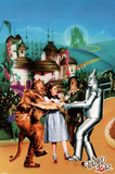 Wizard of Oz Movie Yellow Brick Road Poster Print Plakater