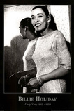 Billie Holiday Lady Day 1915-1959 Music Poster Print Posters