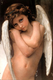 William Adolphe Bouguereau (Cupidon) Art poster Print Poster