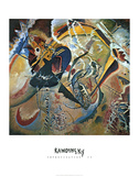 Improvisation 35 Poster by Wassily Kandinsky