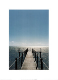 Florida Jetty (Boat Dock)) Prints by Grant Faint