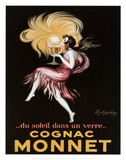 Cognac Monnet Art by Leonetto Cappiello