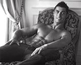 Cristiano Ronaldo Real Madrid Sports Sexy Glossy Photo Photograph Print Photo