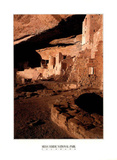 Mesa Verde National Park (Cliff Palace Dwellings) Art Poster Print Posters