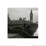 Big Ben and the Houses of Parliament London Poster