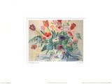 Raoul Dufy - Les Anemones - Reprodüksiyon