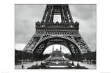 Eiffel Tower (Base) Art Poster Print Posters