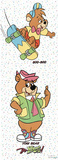 Yo Yogi (Yogi Bear &amp; Boo-Boo, Door) TV Poster Print Posters