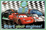 Cars 2 Movie International Racers Poster Print Poster
