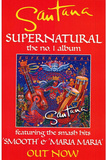 Santana (Supernatural - Promo) Huge Music Poster Prints