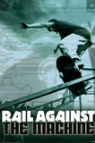 Rail Against the Machine Skateborading Sports Poster Print Print