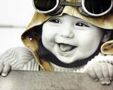 Kim Anderson (Baby Pilot) Art Poster Print Poster