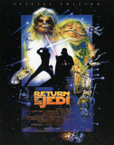 Star Wars Return of the Jedi Movie Poster Print Masterprint
