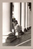 The Ballet Two Little Ballerinas by Columns Photo Print Poster Photo