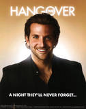 The Hangover Movie Bradley Cooper A Night They'll Never Forget Poster Print Masterprint