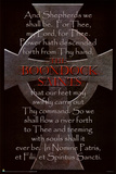 Boondock Saints Movie Cross and Prayer Poster Print Poster