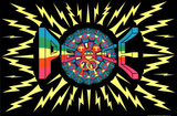 Peace (Trippy) Art Poster Print Posters
