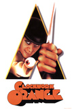 A Clockwork Orange Movie Peering Through Triangle Poster Print Print